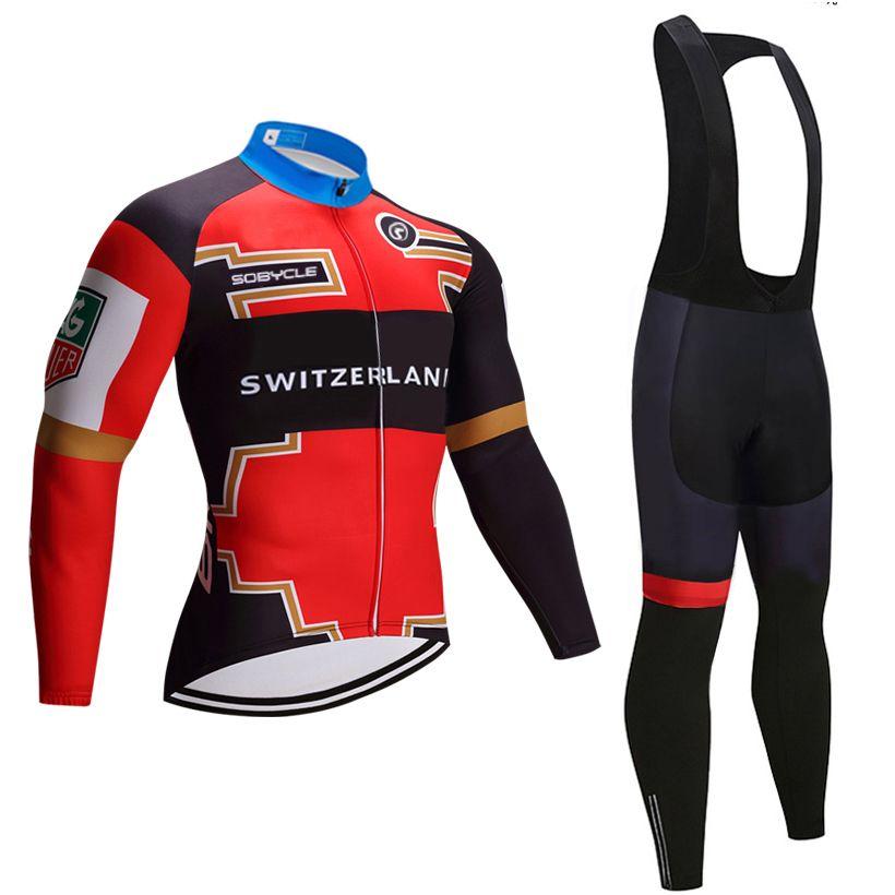 2020 сборной Швейцарии велоспорт Джерси нагрудники шорты комплект Ропа ciclismo мужская зимняя термальная руно про Велосипед куртка Майо одежда