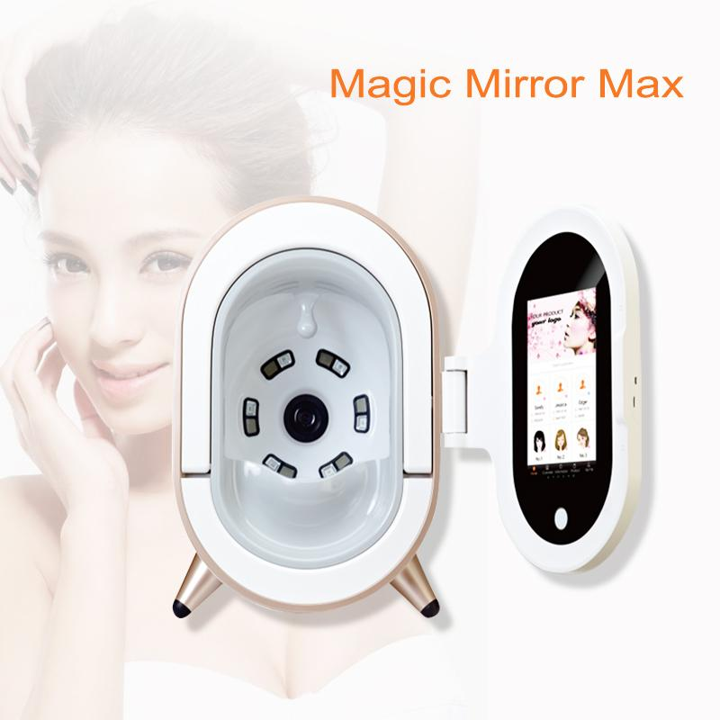 New Die fünfte Generation Magic Mirror Intelligent Skin Analyzer Gesichts-Haut-Analyse-Maschine Schönheit Ausrüstung Gesichtsausrüstung