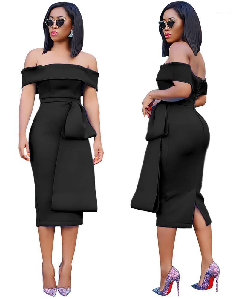 Roupa Sexy Women Casual Vestidos Moda Painéis Magro Corte Pescoço Backless Dividir Womens Designer Vestidos fêmeas