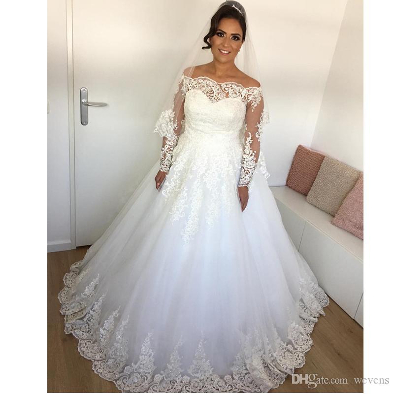 Acheter Belle Robe De Bal Blanc Robe De Mariage