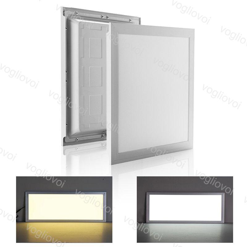 LED-Panel-Licht 20W 32W 35W 48W 300x300 300x600 600x600mm Indoor-Deckenleuchten SMD2835 220V-Oberfläche von Aluminium für Büroklasse DHL