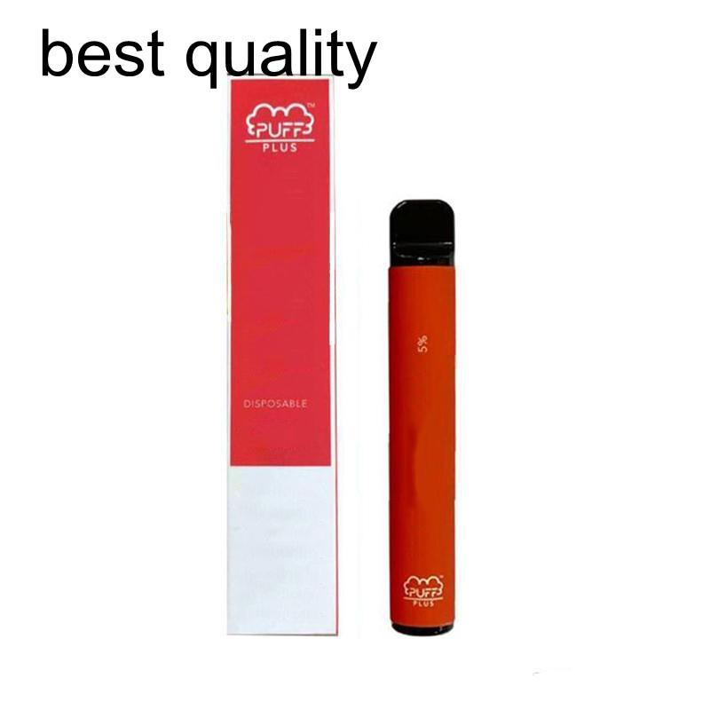 New Puff plus 800 puffs big capacity 3.0ml 600mah battery disposable vape pen e-cigarette Made in China Factory in Stock Fast Delivery