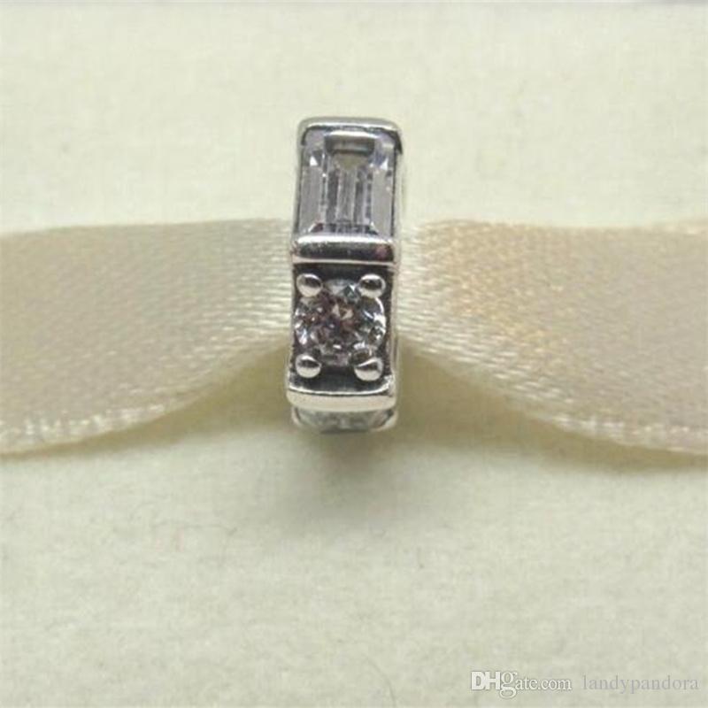 Grano flojo DIY 100% 925 plata esterlina esculturas de hielo encanto del espaciador se adapta a Pandora estilo europeo joyería pulseras collares colgante