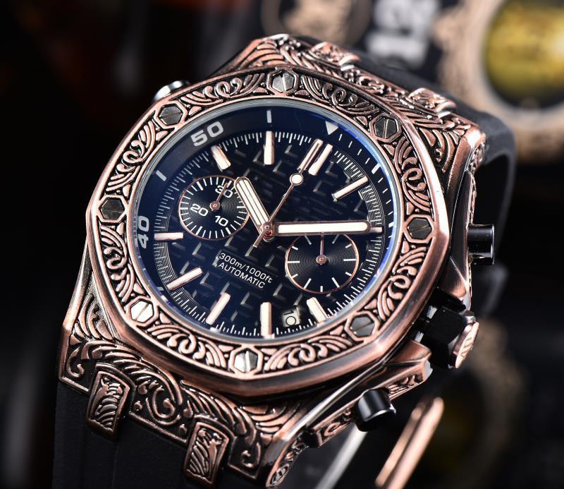 haut marque hommes montres de luxe montre à quartz Mode Hommes lumineux Armée-étanche Bracelet hommes montre Relogio Masculino 2020