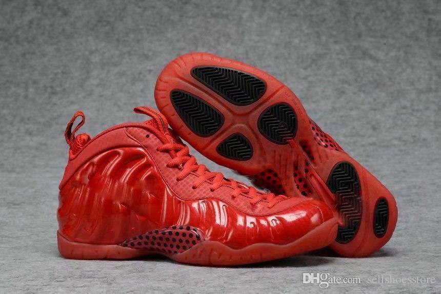 Hot vendita più nuova Mans Basketball Shoes Penny Hardaways rosso argento scarpe sportive traspirante con la scatola di vendita calda 37Q6E7Q6E