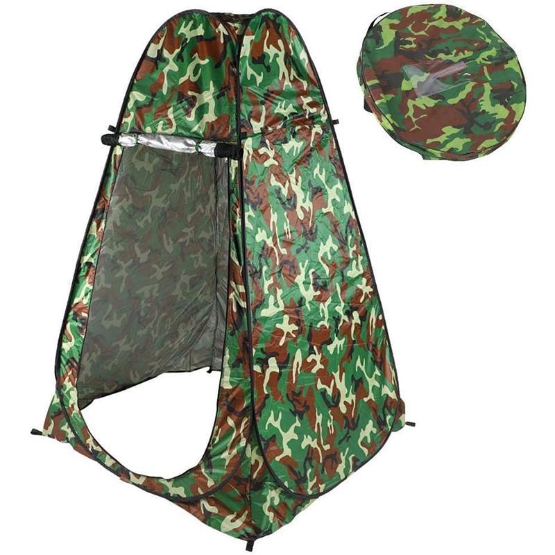 التلقائي يطفو على السطح التخييم دش خيمة في الهواء الطلق مأوى المحمولة غرفة تغيير الملابس من السهل فتح نقل مرحاض خفيفة الوزن قابلة للطي خيمة التخييم