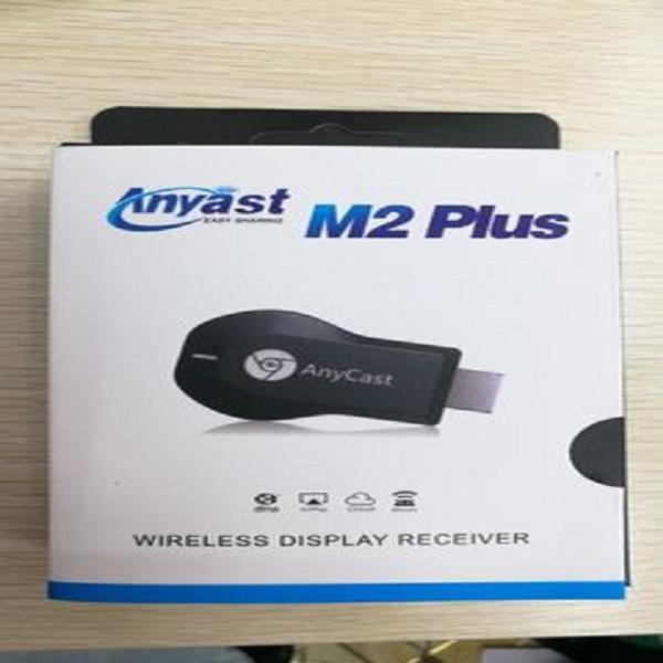 Anycast TV Stick M2 Récepteur M4 Android M9 plus poussée Trésor Airplay Miracast 2.4G 1080P HD Plug TV MiraScreen sans fil HDMI Dongle