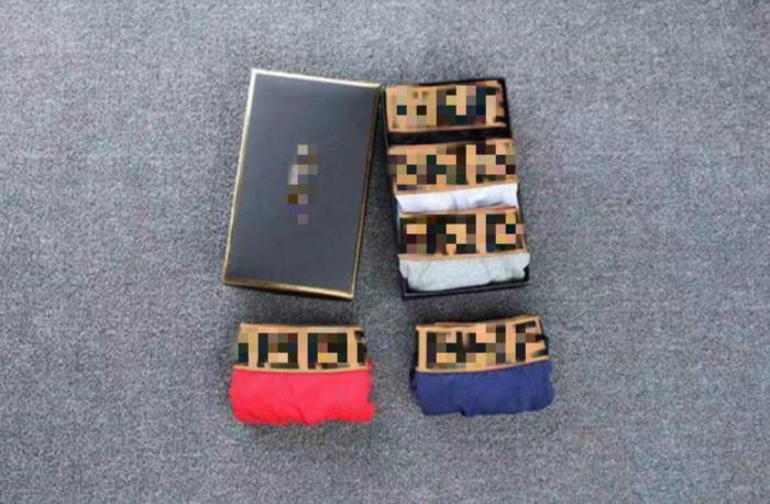 Nouvelle arrivée de mode de luxe Hommes Sexy Boxer Marque Hommes Caleçons Casual Hommes Briefs Homme Sous-vêtements SANS BOX Livraison gratuite LJ B1015273T