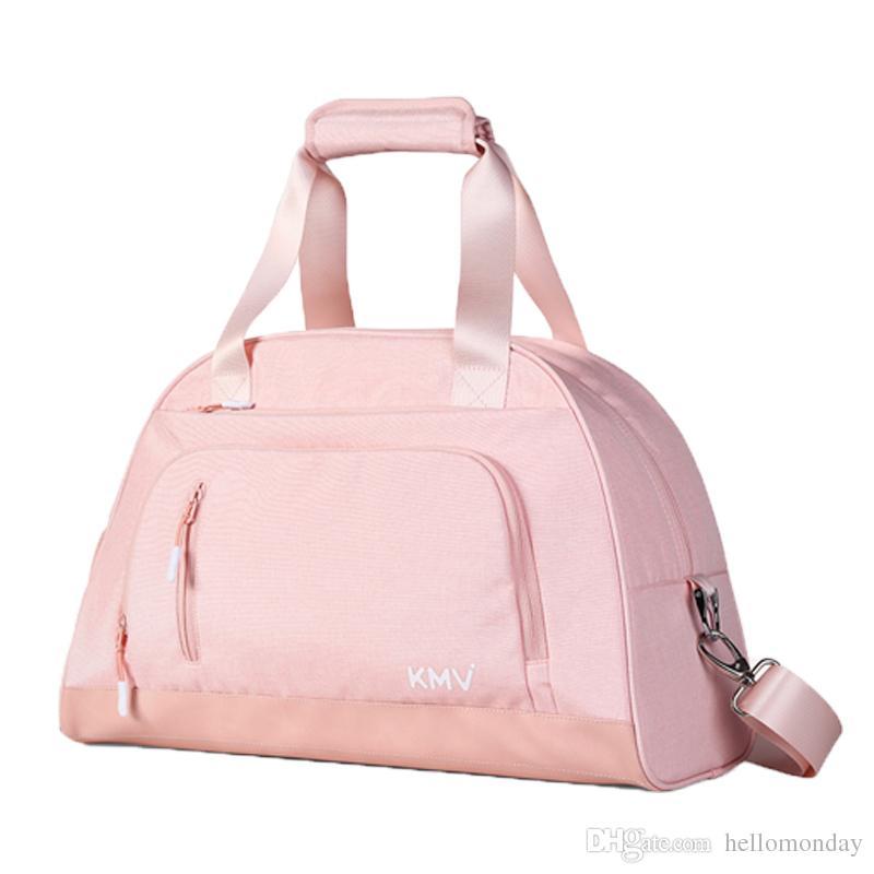 Спортивная спортивная сумка с отделением для обуви для женщин Плавание Спортивная дорожная сумка Weekender Сумка ручной клади с ручкой на тележке