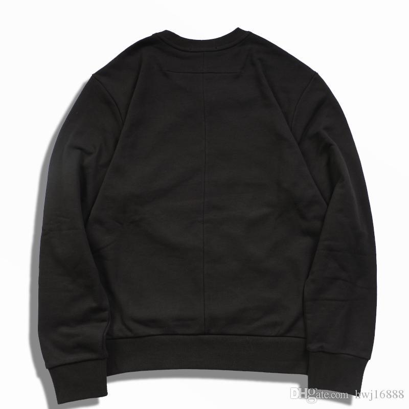 2021 Göttin Ärmel Hoodie Black Damen Hoodies Drucken Lange Hohe Qualität Männer Pentagram Fashion Fashion Luxus Designer Sweatshirt SJQFJ
