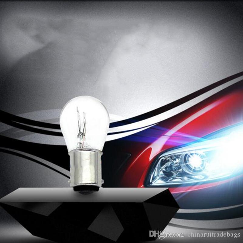 car 1157 P21/5W BAY15D 1156 P21W BA15S 12v 21W halogen lamp warm white reverse light brake bulb Stop Light Turn Signal DRL