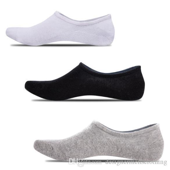 Solid Colors Sock Slipper Casual Relaxed Fashion Homme Underwear Silicone Slip Male Clothing Mens Summer Designer
