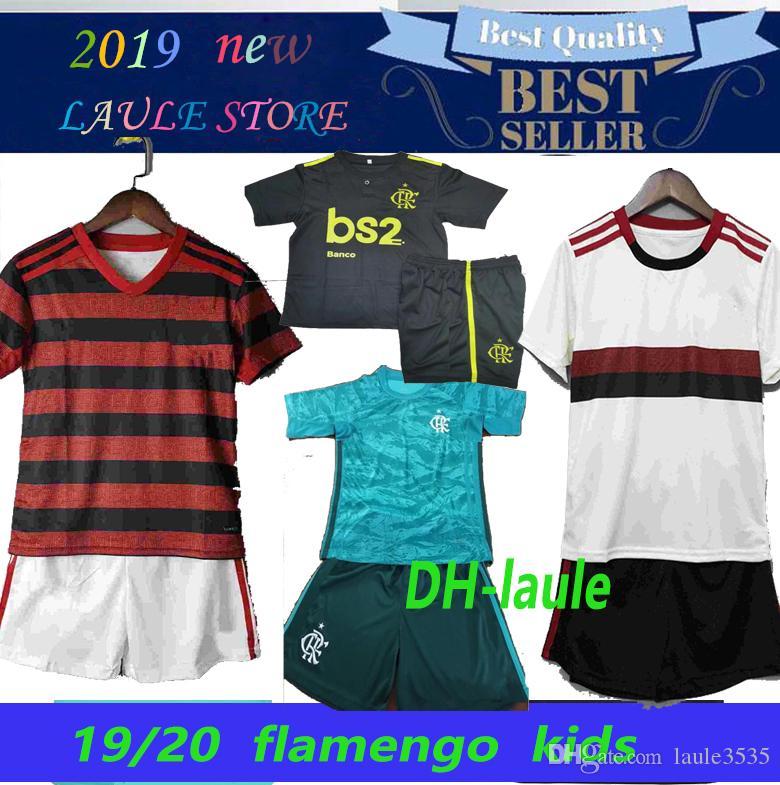 19 20 flamengo jersey 2019 flamenca GABRIEL DIEGO B. VINICIUS JR fútbol jerseys Flamengo hogar lejos 3ª deportes de Brasil camisa de fútbol muchachos de los niños
