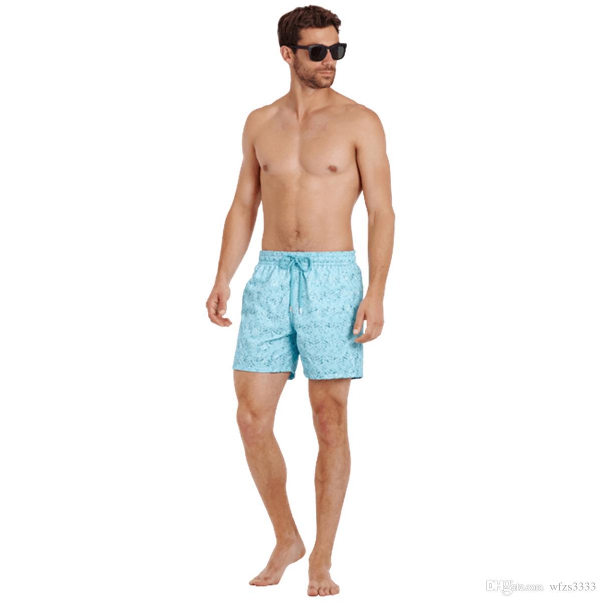 Vilebre MEN SWIMWEAR herringbones TARTARUGAS mais novo Casual Verão Shorts Homens Moda Estilo Mens Shorts bermudas de praia 233