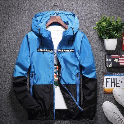 Erkek Tasarımcı ceketler Trend Patchwork Moda Ceket Casual Tasarımcı Windbreak Coat Lüks Bahar Kabanlar çarpıcı