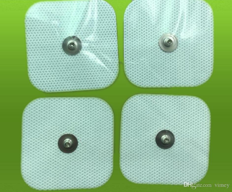 40 stks Vervanging Compex Easy Snap Electroden Pad 2in x 2in voor rand, prestaties, sportelite, draadloze spierstimulatoren TENS EMS