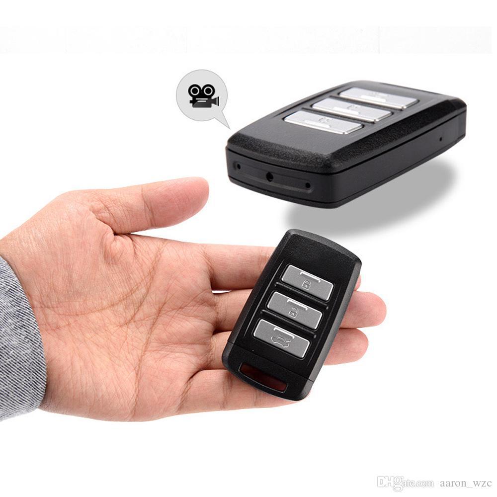 4K Full HD Key Fob WIFI Mini Camera Car Keychain Video Recorder