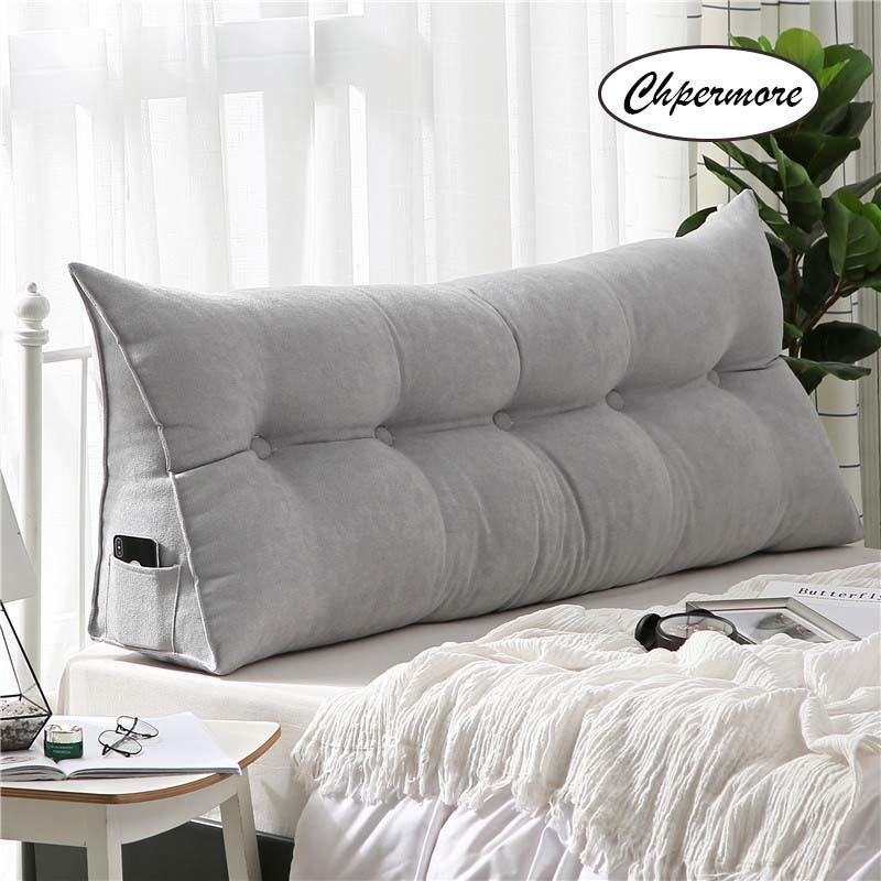 Chpermore multifunción larga almohada de lujo de alta calidad colchón de la cama simple cama blanda almohada simplicidad moderno de la cama para dormir T200603