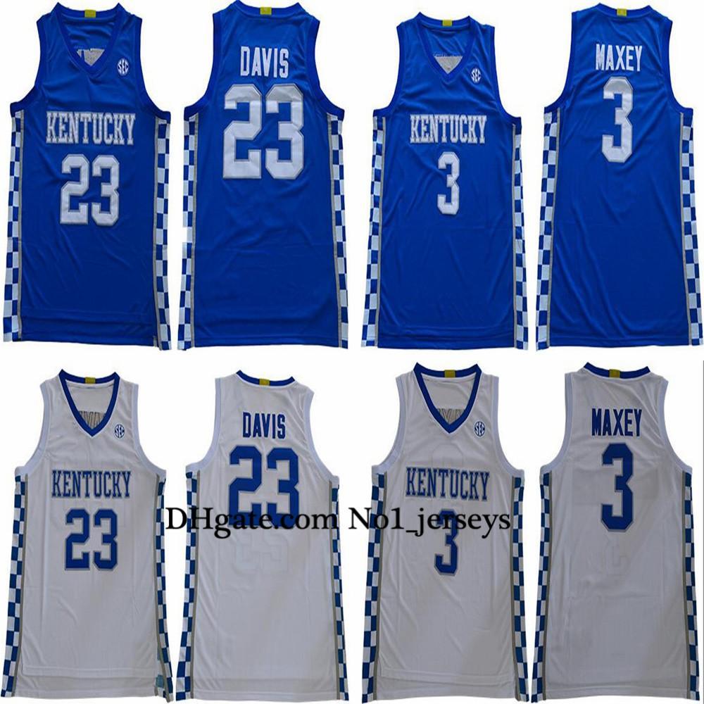 2020 2020 Kentucky Wildcats Basketball Jerseys 3 Tyrese Maxey Jersey Anthony 23 Davis Wildcats College Jerseys From No1 Jerseys1 74 62 Dhgate Com