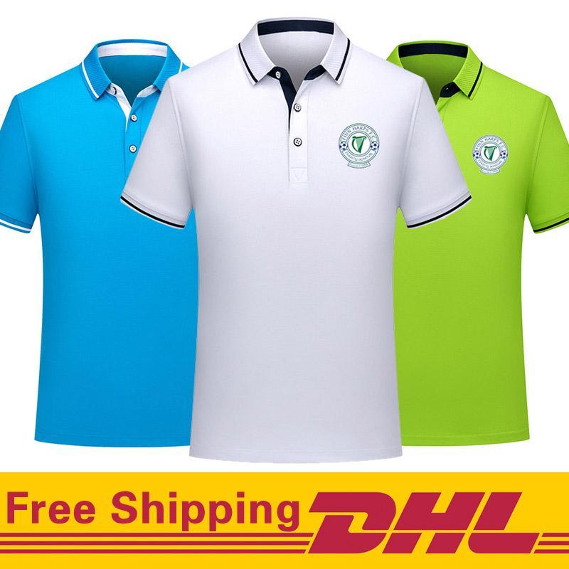 Свободная перевозка груза DHL Фин Харпс футбол поло рубашки мужчин поло с коротким рукавом обучение футбол T-Shirt Джерси может быть смешанная серия Мужская Polos