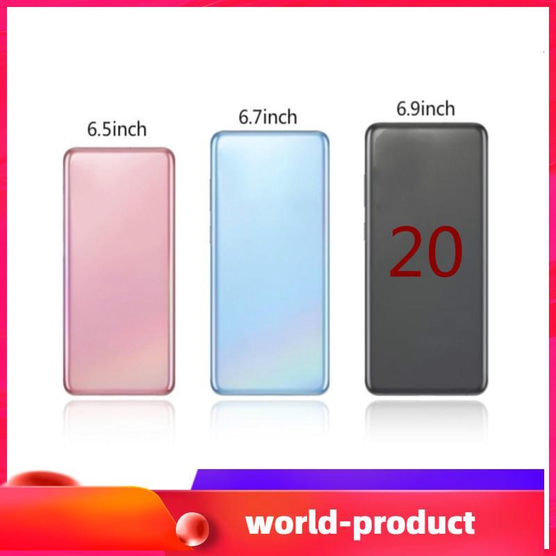 2020 Goophone Andorid 9.0 Camera 8.0MP 6.9inch es20+ 20plus 20U 6.5inch es10+ Show 4G LTE 1GB RAM 4GB/8GB/16GB ROM WIFI Bluetooth smartphone