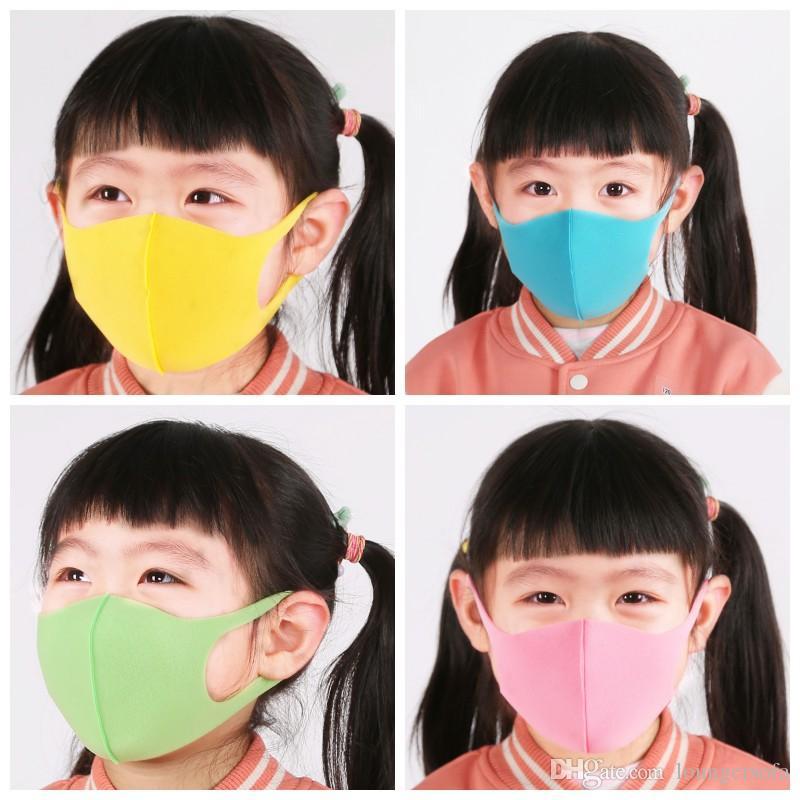 어린이 페이스 마스크 호흡기 Earloop 접이식 입 마스크 남여 홈, 야외 유용한 6HL H1 호흡 방진