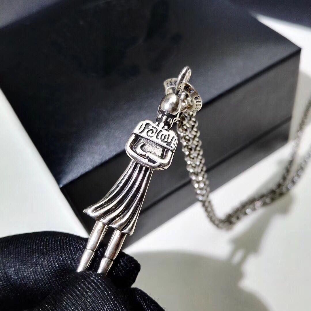 Manera- con logotipo de la cruz las cadenas del collar del diseñador del cráneo para dama Diseño mene y los amantes de la boda del partido de las mujeres Regalo de la joyería Luxury Hip hop