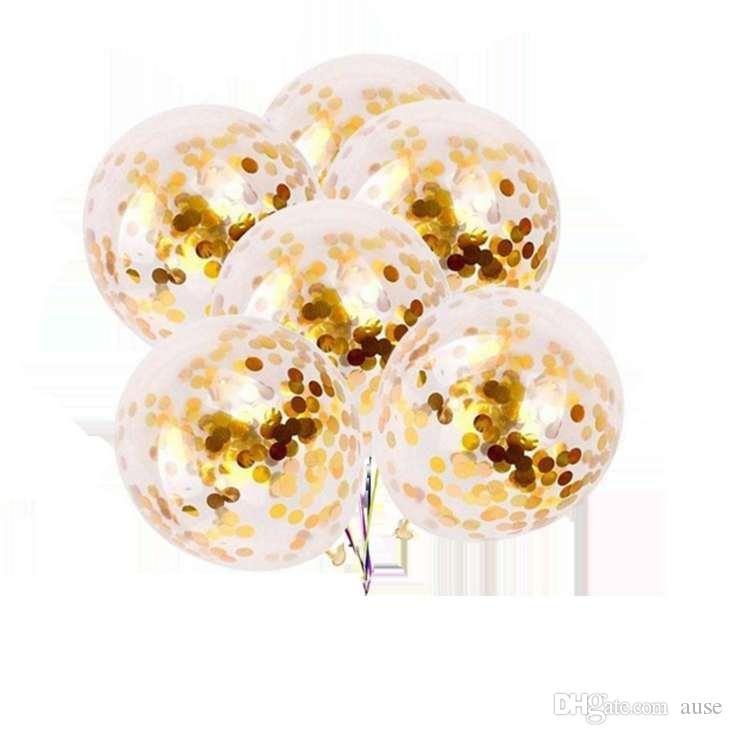 12 polegadas Confetti balões brinquedos dos miúdos Latex balões de hélio Fotografia Moda Decoração Top qualidade do ar Balls Drop Shipping