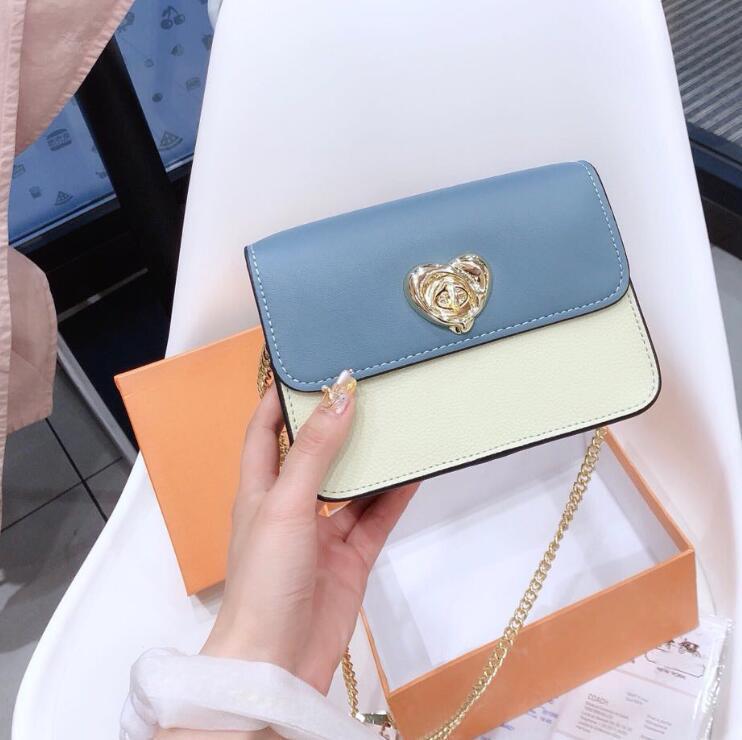 Дизайнерские роскошные сумки кошельки бренд женщин сумка L0G0, мода Crossbody сумка плечо цепи сумка с коробкой
