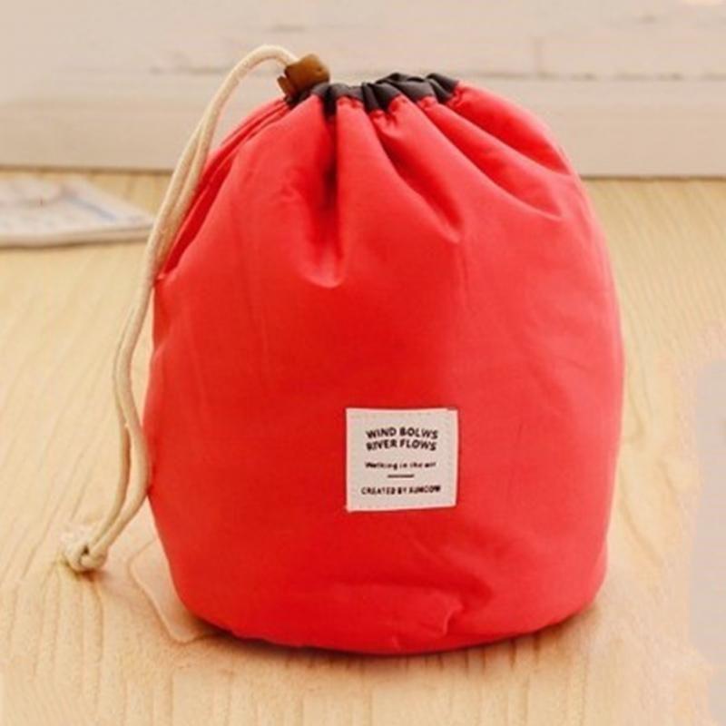 Waterproof 2019 Shaped Travel Cosmetic Bag Make Up Case Drawstring Wash Kit Large Capacity Organizer Storage Bag