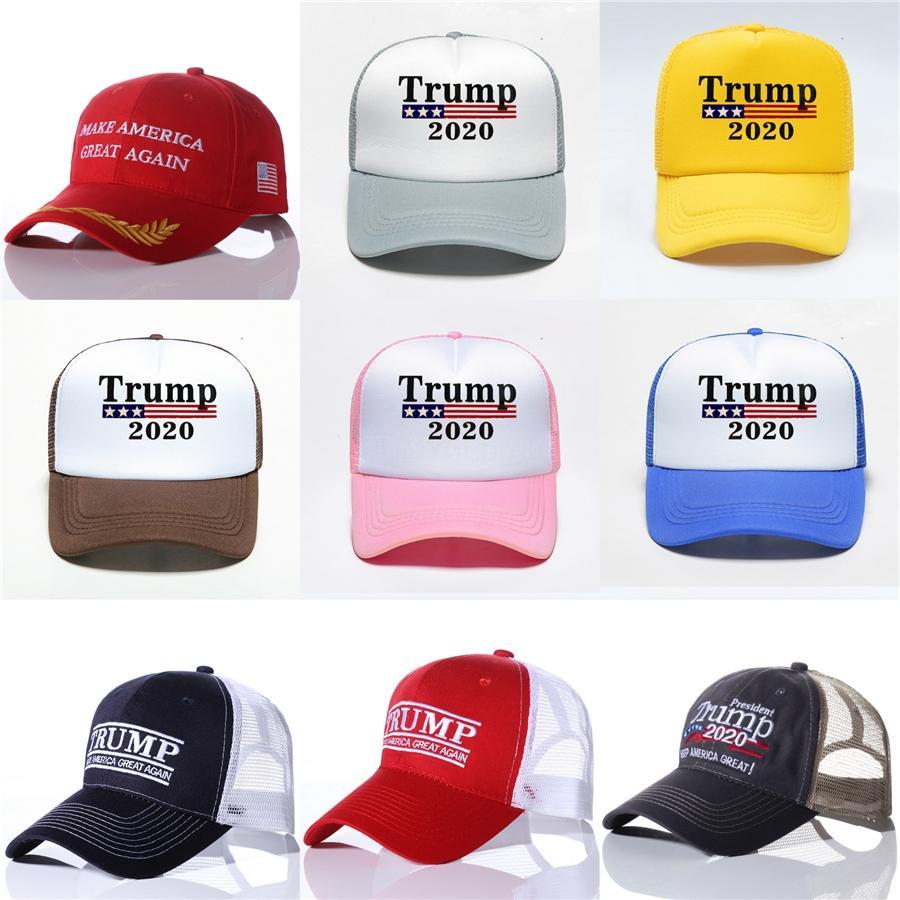 Fashion-Дональд Трамп 2020 Бейсболка сделать Америку Великой Снова Hat Вышивка Спорт Бал Hat Outtravel Бич ВС Hat Tta712 # 548