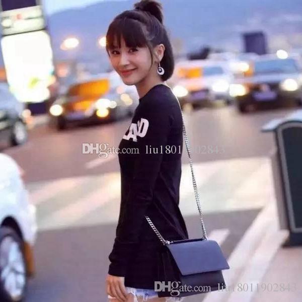 Vendita di modo borse delle donne annata borsa borse medico in pelle di alta qualità con la singola inclinazione spalla espansione borse catena di file