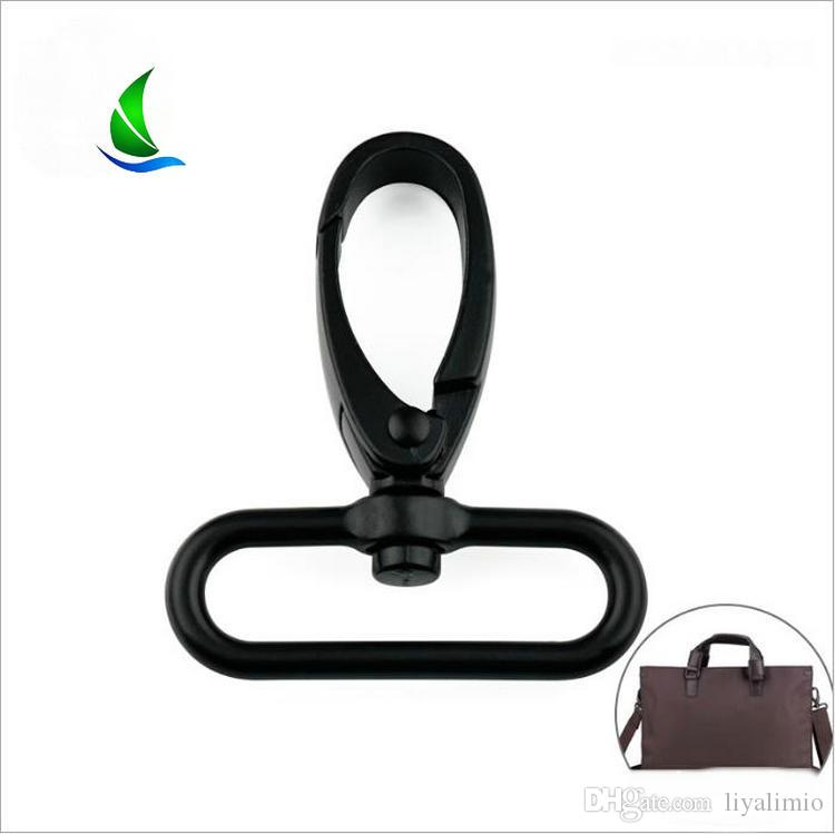 10 Pcs Apparel Sewing Fabric Snap Hook DIY Craft Metal Swivel Trigger Outdoor Backpack Bag Parts 6 Sizes Lobster Clasp