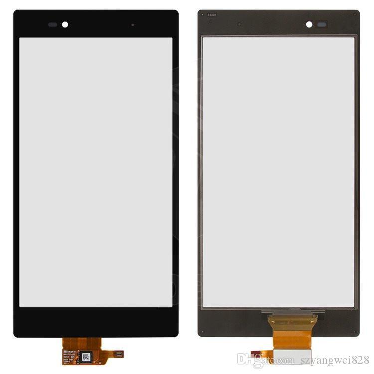 Pantalla LCD con pantalla táctil para Sony C6802 XL39h Xperia Z Ultra C6806 C6833 Pantalla LCD Pantalla de cristal digitalizador Panel frontal