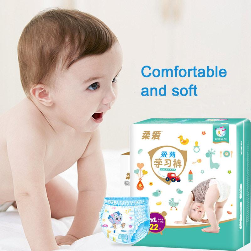 Snug & Dry Baby Diaper Toddler Baby Nappy Toilet Training Diapering Disposable Swaddlers Hypoallergenic Diapers M L XL XXL