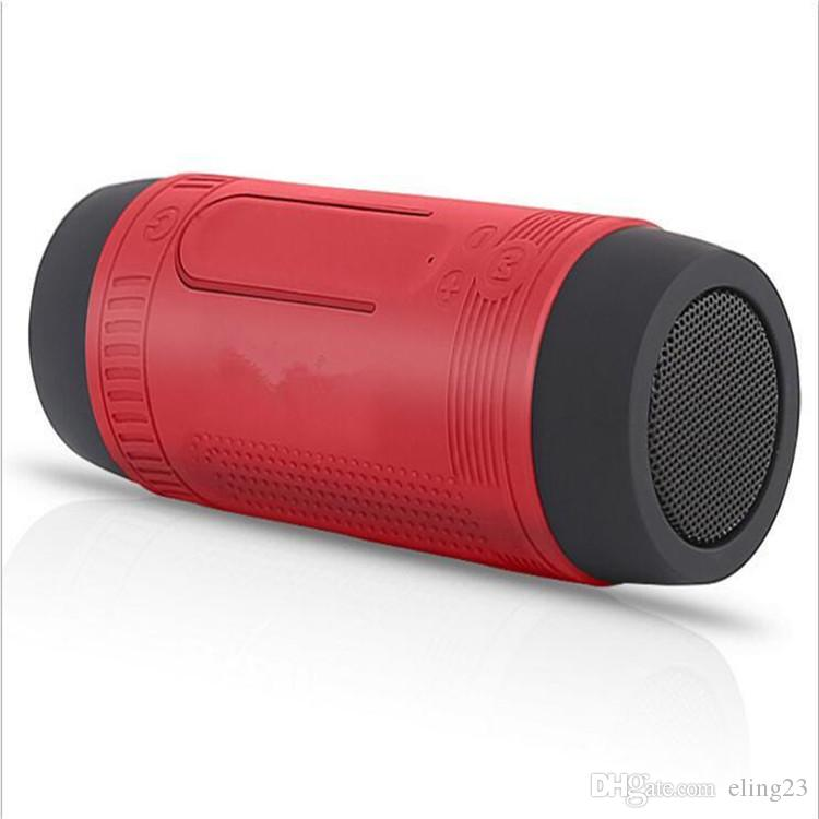 Zealot S1 Portable Wireless Bluetooth Speakers With Emergency Outdoor FlashLight Powerbank Over 20 Hours Playing Time Zealot Design