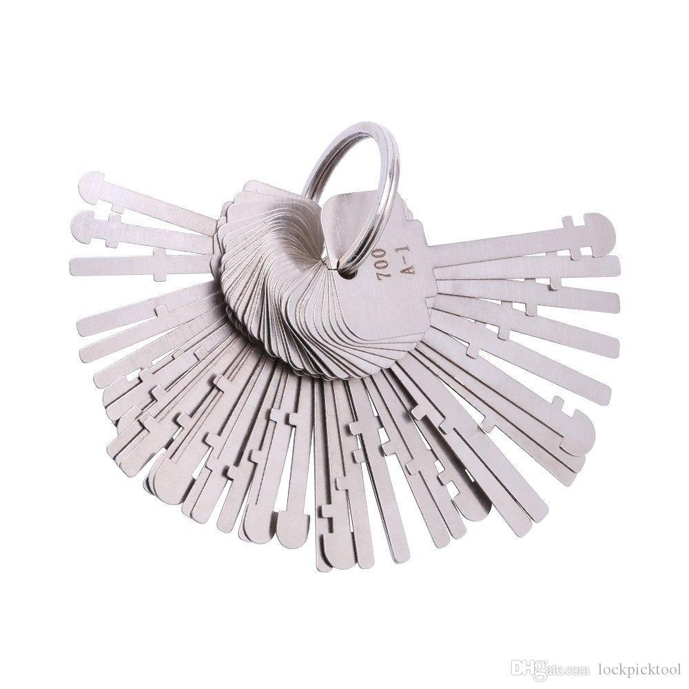KLOM اتقي قفل اختيار مجموعة (40 مفاتيح) أدوات وارد قفل مفاتيح اتقي قفل مفتاح الهيكل العظمي اتقي مفاتيح إفتح للالفنية الأقفال مفاتيح