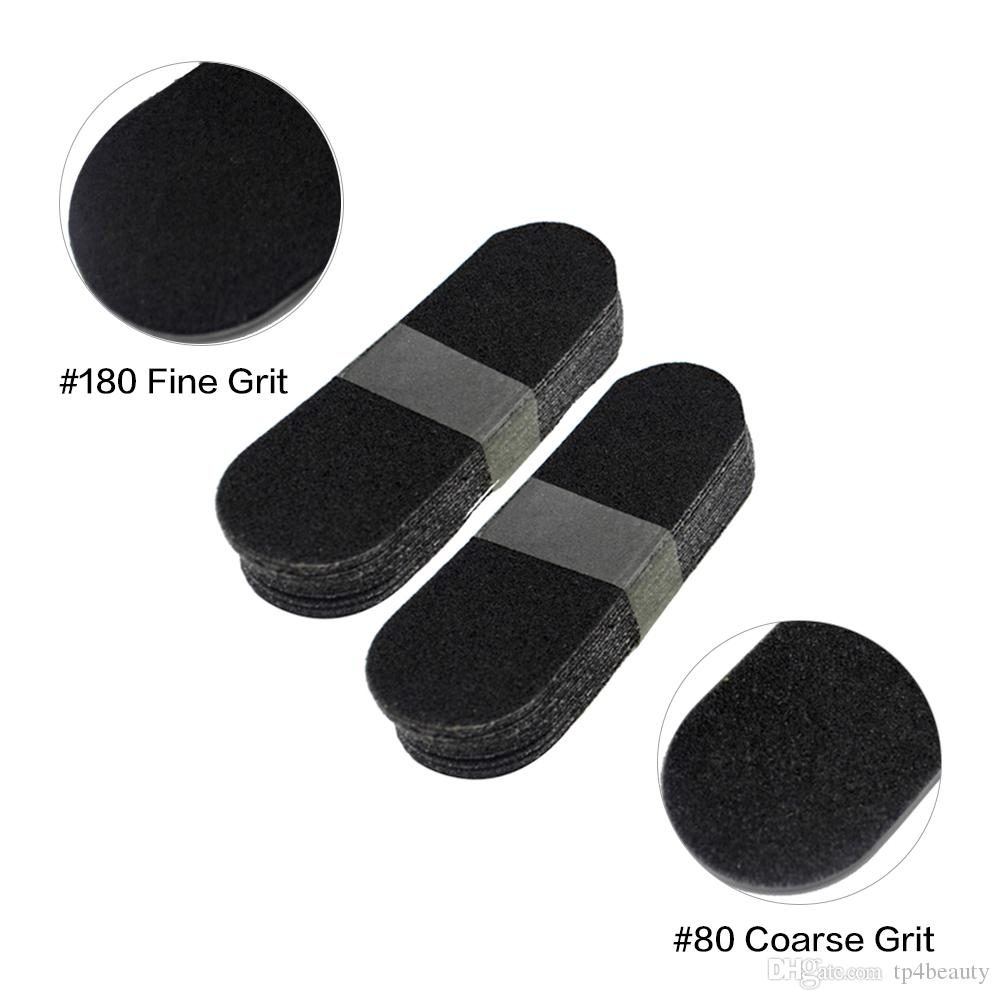 20 sztuk # 80 # 180 stóp Pliki Wymień Szlifowanie Tkaniny Pedicure Feet Foot Care Tool Calluss-Remover Dead Skin Foot Rasp Refill