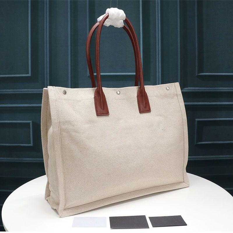 Rive Gauche bolsa de asas de las mujeres de los bolsos de compras del bolso de ropa de moda de alta calidad bolsas grandes de lujo bolsa de viaje diseñador Beach