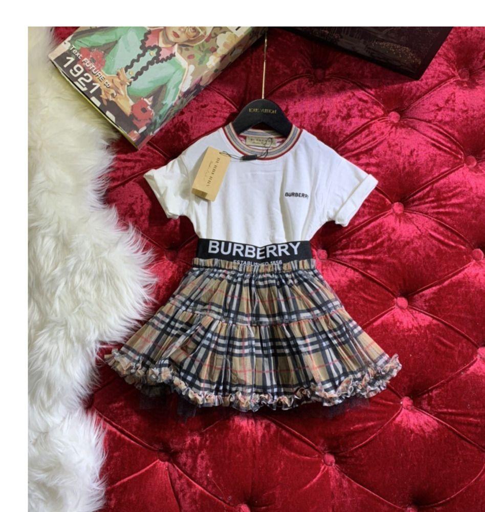 Костюм из двух частей корейские девушки юбка с коротким рукавом хлопок футболка чистая короткая юбка из двух частей юбка 031401