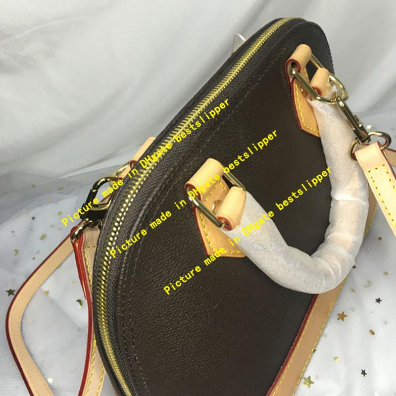 N53151 Shell Totes Clássicos Forma Fashion Lady Mulheres Crossbody Damier Bag BB Monogramas Malography Mensageiro 53151 Alma Evening Bags Mbou