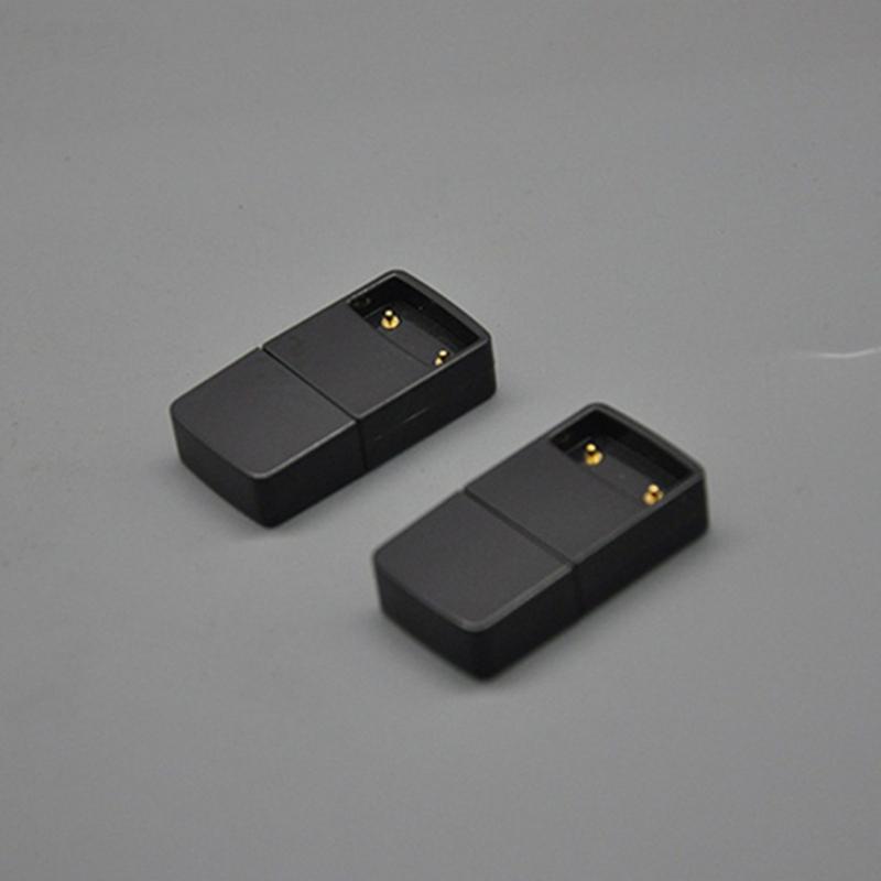 Новые 5 в 120 мАч Usb черный зарядное устройство глава магнитный портативный инновационный дизайн Forjuul Vape ручка плоский электронная сигарета Pod комплект батареи горячий торт DHL