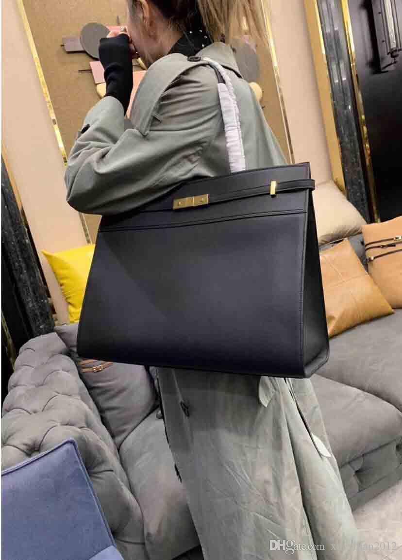 2019 Süper satış kadın tasarımcı çantaları, AC MANHATTAN üst orijinal deri Çantalar, Web sitesi senkronizasyon Yıldız çanta, 40 * 30 * 15 cm