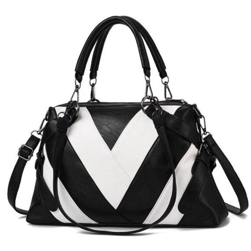 Women Bags High Capacity Leather Handbags Mature Female Over Shoulder Bags For Womens Famous Brands Designer Handbags LW-466