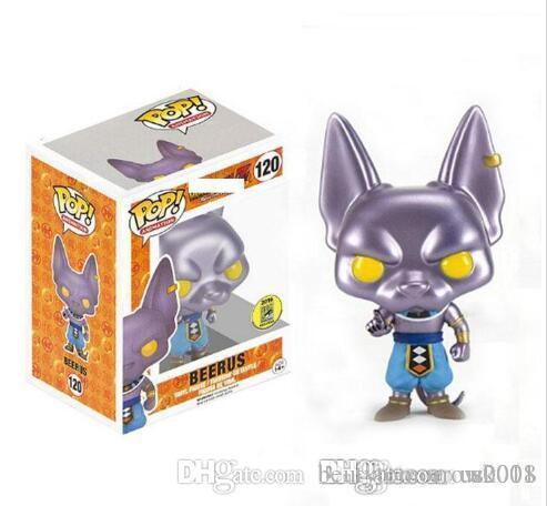 Beauté US New Funko Pop! Anime Dragon Ball action métallique Figure exclusif avec Toy Box cadeau pour les enfants