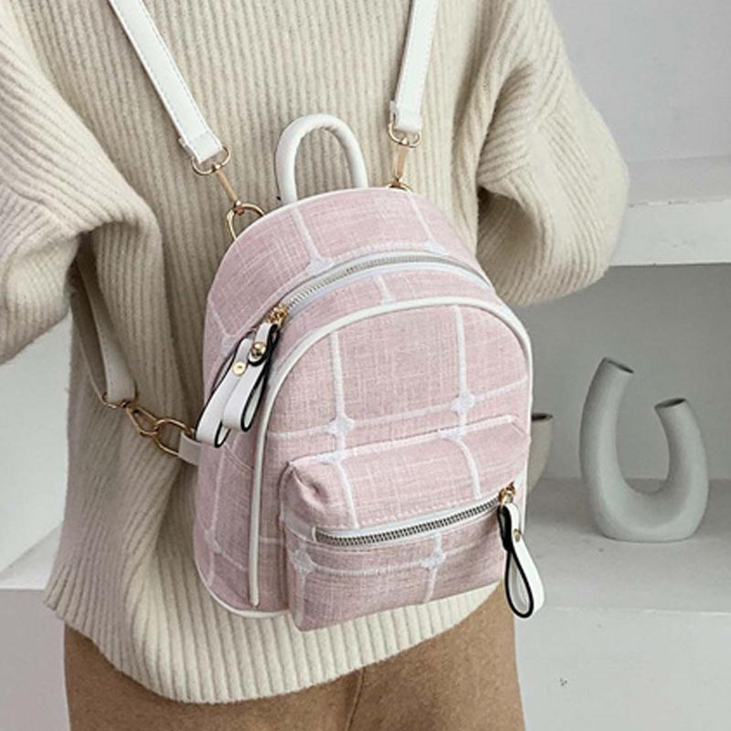 Joypessie женщины рюкзак мода искусственная кожа мини рюкзак для женщин маленькая сумка досуг дорожная сумка для девочек-подростков