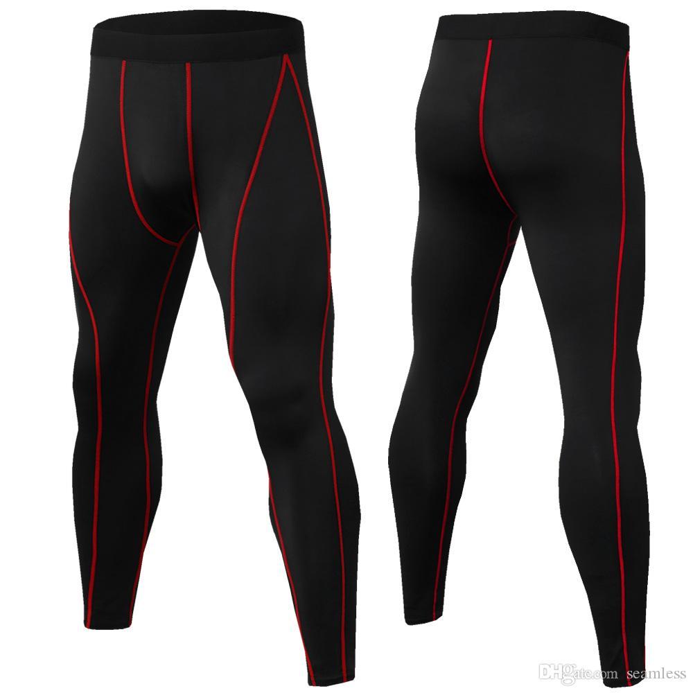 Gros hommes Leggings Sport Compression Élastique Leggings Sport Push Up Taille Haute Homme Running Collants Hommes Pantalon De Course Fitness