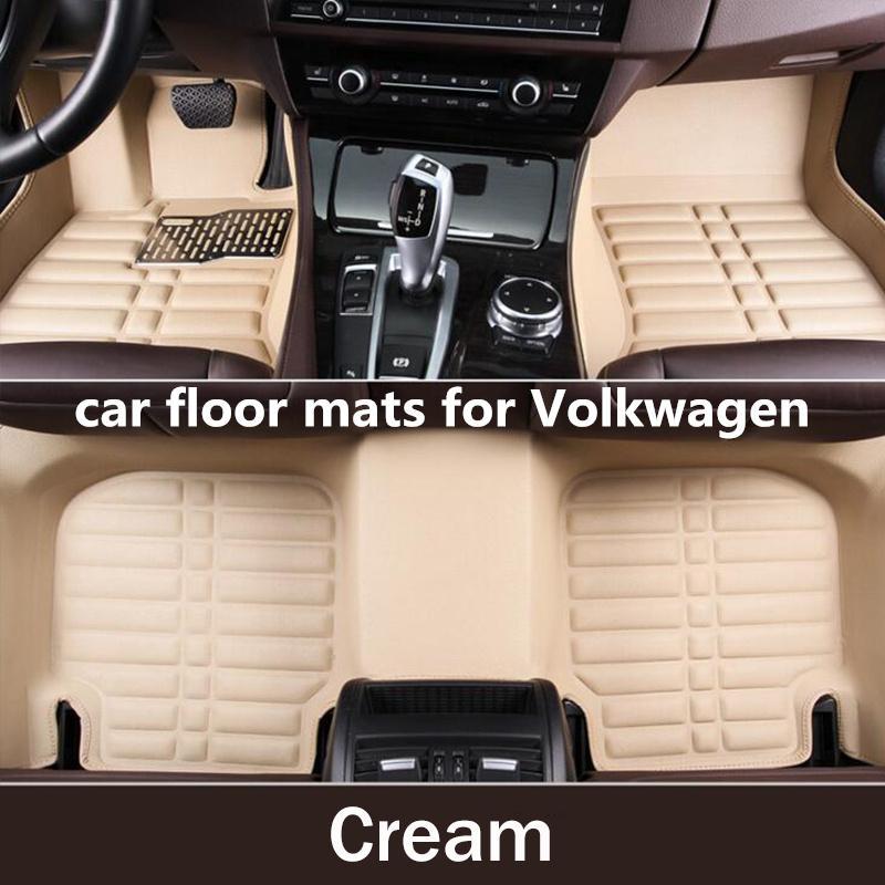 2020 3d Custom Car Floor Mats For Volkswagen Tuareg 2003 2004 2015