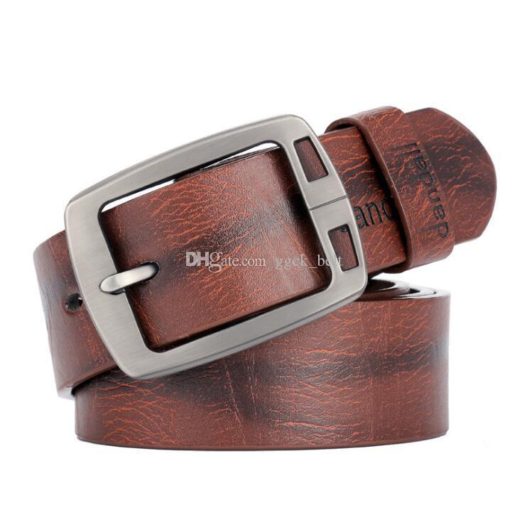 Nuove cinture di design Cinture da uomo Cintura da uomo in vera pelle di lusso Cinture maschili per uomo Nuovo Desinger Classice Vintage Fibbia ad ardiglione