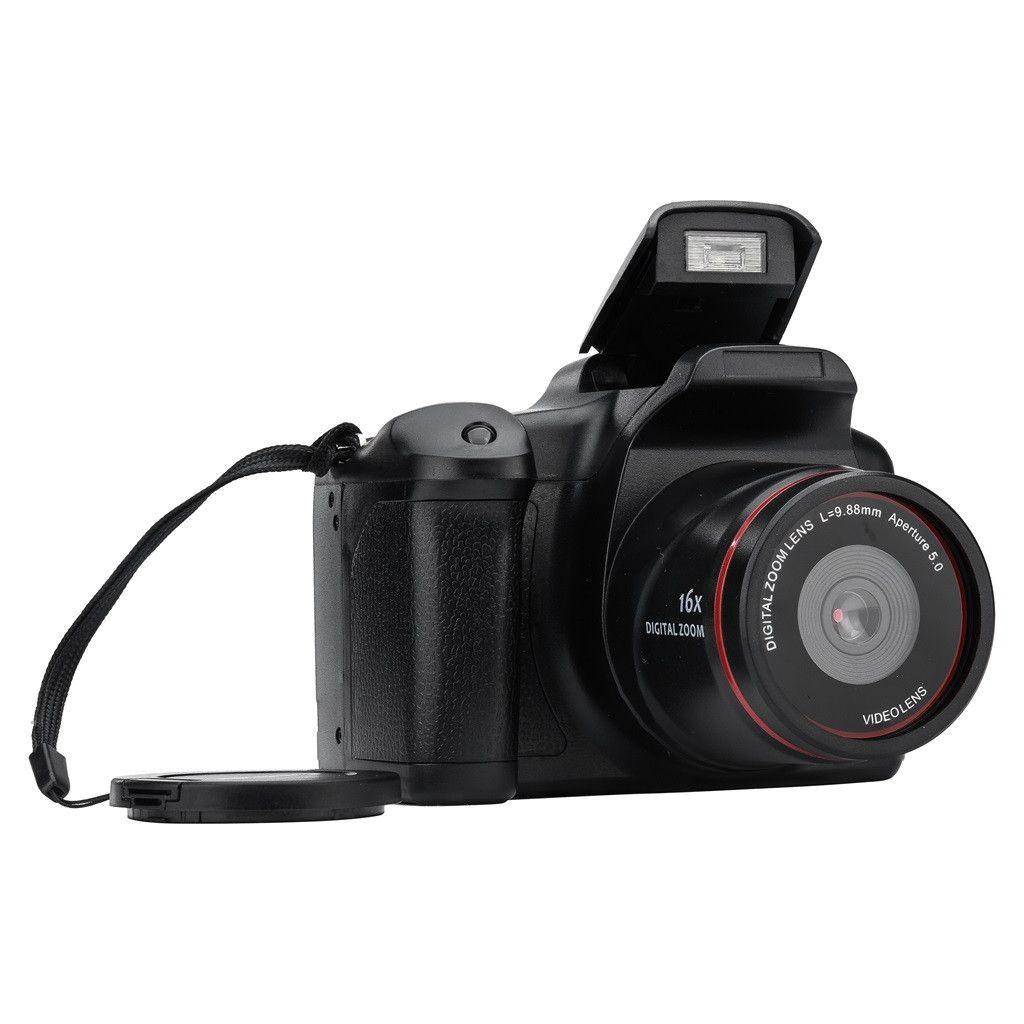 19Mar28 LCD della fotocamera digitale di prezzi di fabbrica Video Camcorder Full HD 720P palmare con il Mic 16MP Max Zoom 2,4 pollici